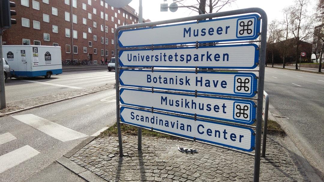 Señalización en danés