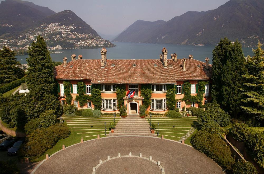 Villa Principe Leopoldo, Lake Lugano