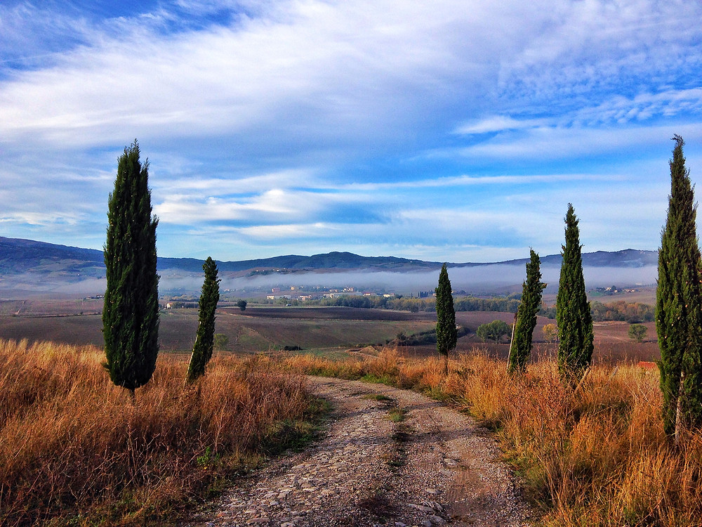 Tuscany's Val d'Orcia in October