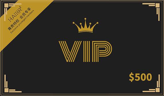$500 VIP Member
