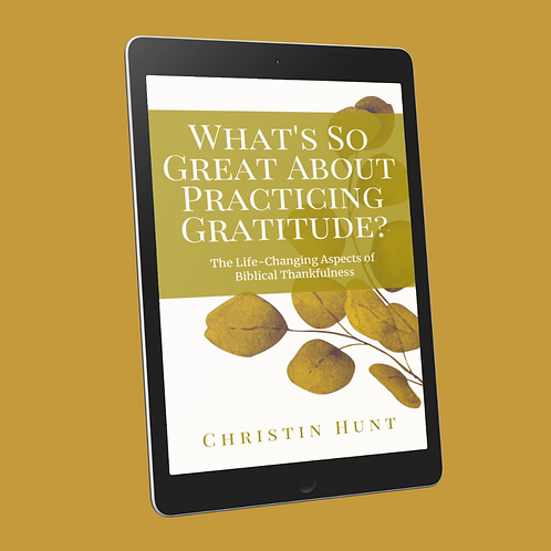 What's So Great About Practicing Gratitude?