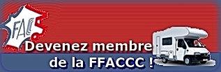 Adhésion Fédération Française Association des Clubs de Camping Car