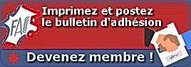 Adhésion Fédération Française Association des Clubs de Camping Cars