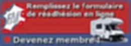 Devenez membre Readhesion en ligne