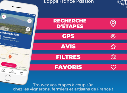 Du Nouveau chez notre partenaire France Passion