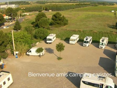 ÉTAPE - ACCUEIL POUR LES CAMPING-CARS 7 JOURS/7