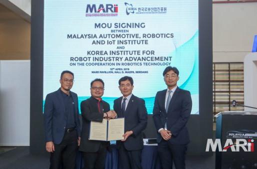 MARii and KIRIA ink MoU on robotics technology collaboration
