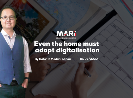 Even the home must adopt digitalisation