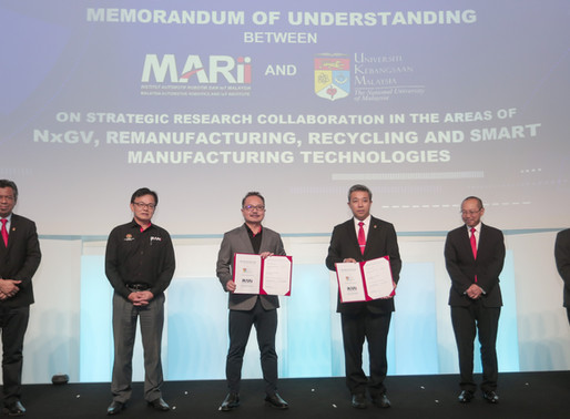 MARii and UKM form strategic partnership to accelerate NXGV, MAAS and IR4.0 technology