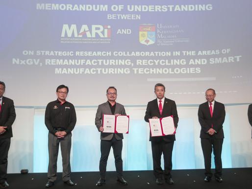 MARii and UKM form strategic partnership to accelerate NXGV, MAAS and IR4.0 technology