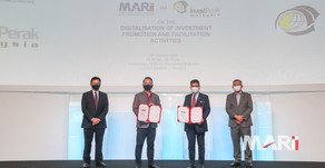 MARii & InvestPerak collaborate to accelerate digitalisation of investment promotion activities