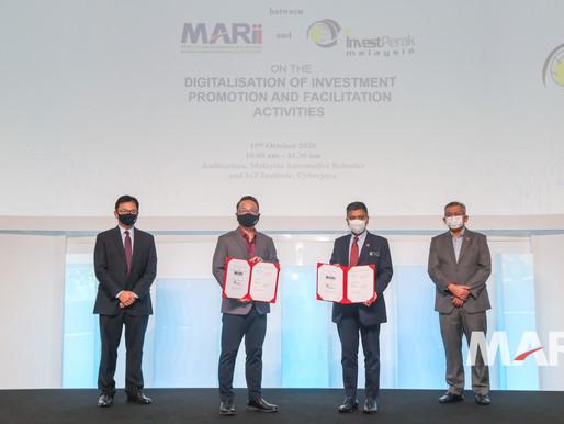 MARii & InvestPerak collaborate to accelerate digitalisation of investment promotion activities