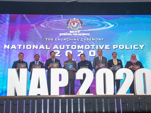 NATIONAL AUTOMOTIVE POLICY 2020 LAUNCHED, FUTURE PROOFING LOCAL AUTO AND MOBILITY SECTOR