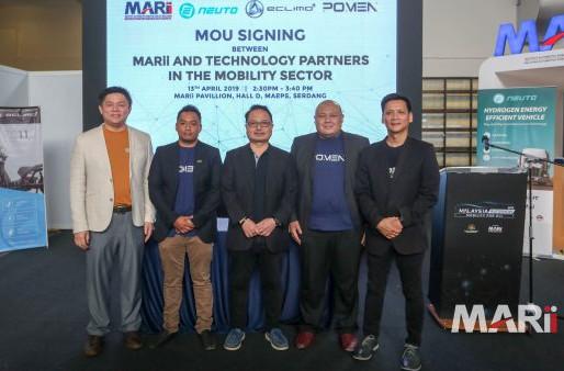 Technology partnerships inked at the Malaysia Autoshow 2019