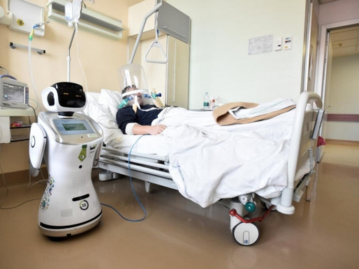 Has Covid-19 accelerated the implementations of medical robots?