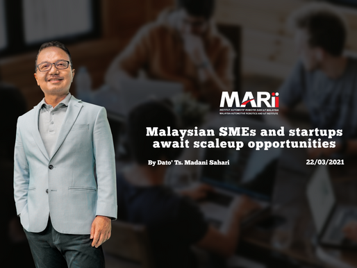 Malaysian SME-s & Start-Ups await scale-up opportunities