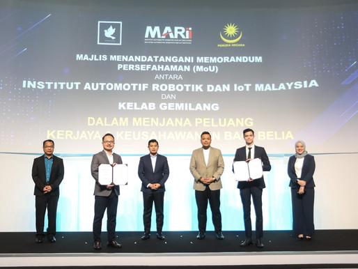 MARii dan Kelab Gemilang bekerjasama dalam menjana peluang kerjaya dan keusahawanan bagi belia