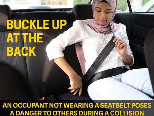 Wear your seatbelts!