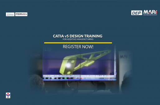 CATIA v5 Design Training for Additive Manufacturing Workshop.