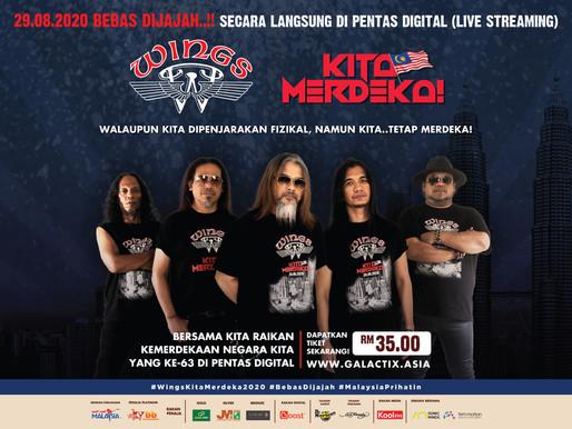 "MARii sebagai Peneraju Teknologi bagi konsert digital ""WINGS KITA MERDEKA 2020"""