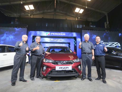 Perodua Bezza 2020 dilancarkan, 5,600 dijangka dihantar menjelang akhir Januari