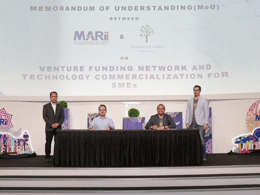 MARii and FCV to enhance SME fundraising and tech commercialisation opportunities through VC funding