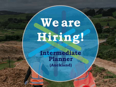 Intermediate Planner position available in Auckland