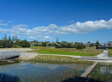 NZILA Award Of Excellence for Croftfield Lane Stormwater Wetland