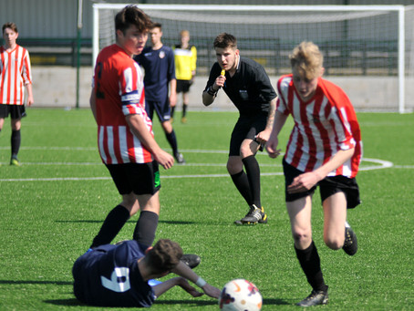 Official Nottinghamshire FA Sports Photographer: Hucknall Sports Red YFC Vs. Beeston YFC