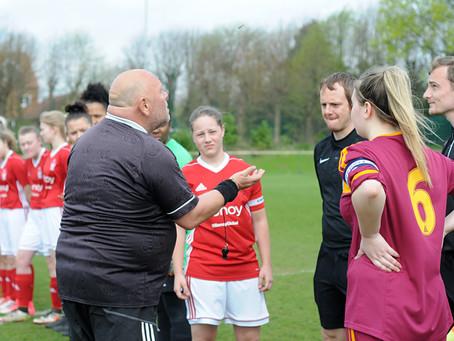 Official Nottinghamshire FA Sports Photographer: Nottingham Forest Ladies FC Vs. Arnold Eagles Girls