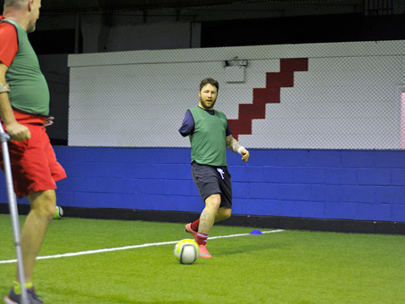Midlands Based Events Photographer: Nottingham City of Football - Amputee Football Session