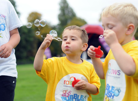 Midlands Based Events Photographer: Rainbows Hospice for Children and Young People - Bubble Rush
