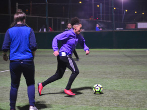 Midlands Based Events Photographer: Female Football Fives