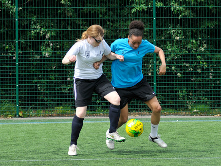 Midlands Based Events Photographer: Female Football Fives - Summer Tournament
