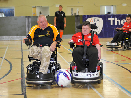 Midlands Based Events Photographer: The Wheelchair Football Association - Muscular Dystrophy UK Cham
