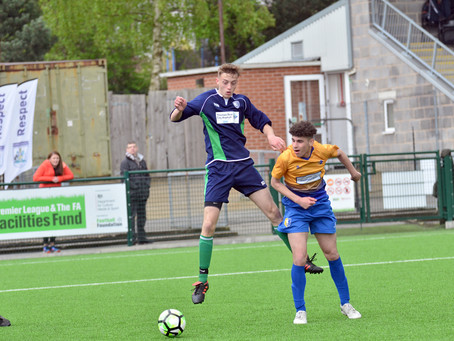Official Nottinghamshire FA Sports Photographer: Mansfield Town FC 2 - 1 Burton Joyce FC