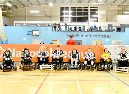 Newcastle Win Powerchair League with Two Star Players Aged 10 and 12