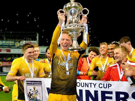 Official Nottinghamshire FA Sports Photographer: Carlton Town Vs. Basford United