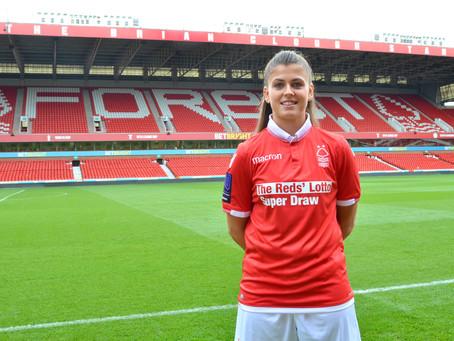 Official Sports Photographer: Nottingham Forest Ladies 18/19 Headshots