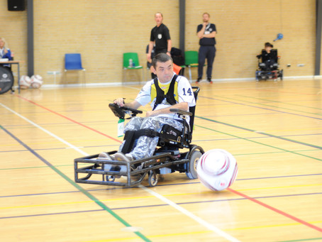 Official European Powerchair Football Association Photographer: Part 3 of Champions Cup - Billund; D