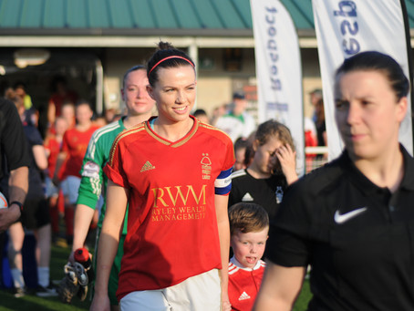 Official Nottinghamshire FA Sports Photographer: Nottingham Forest Ladies FC Vs. Radcliffe Olympic L
