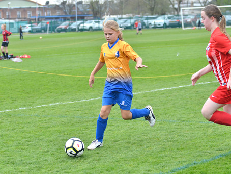 Official Nottinghamshire FA Sports Photographer: Gedling Southbank Girls FC Vs. Mansfield Town Ladie