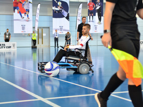 Official Nottinghamshire FA Sports Photographer: FA Disability Cup Final