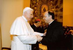 With Pope Emeritus Benedict XVI