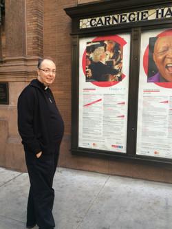 Visiting Carnegie Hall