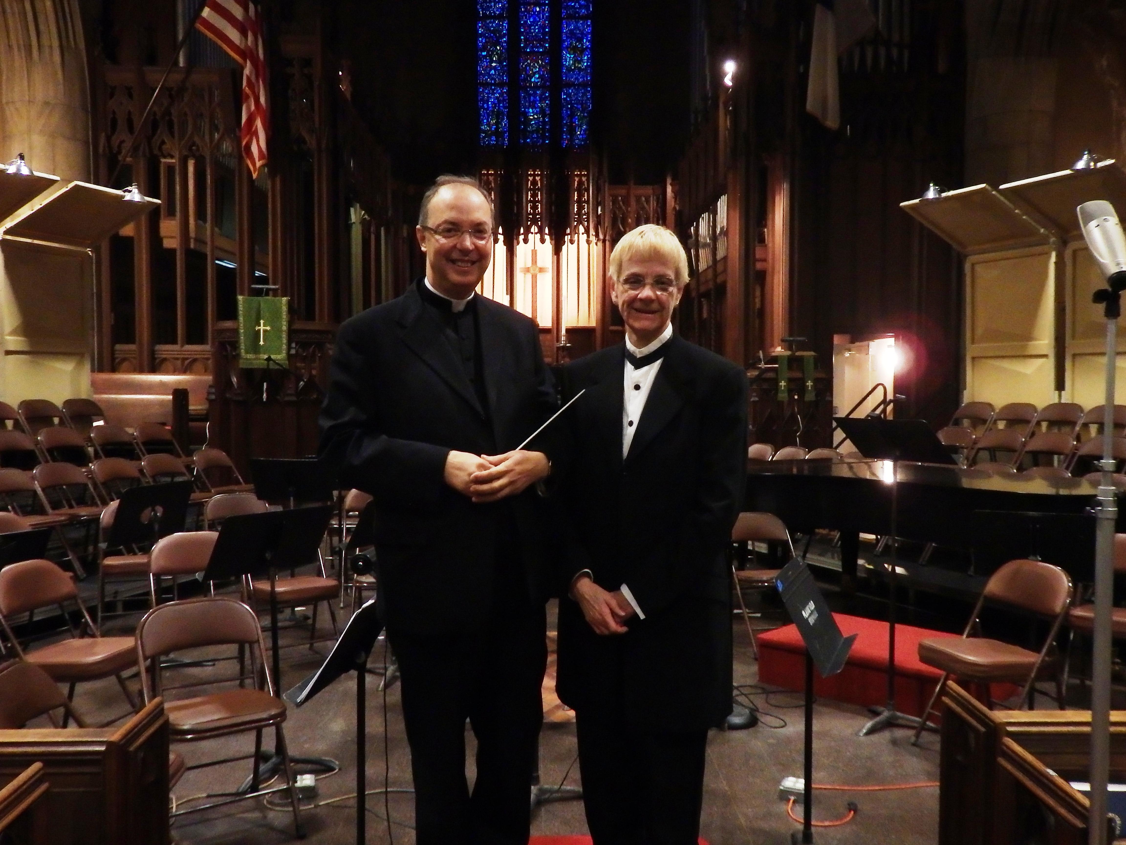 Maestro Frisina & Lee Doswell