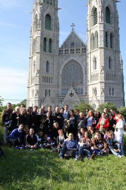 Tour Group - Sacred Heart Basilica