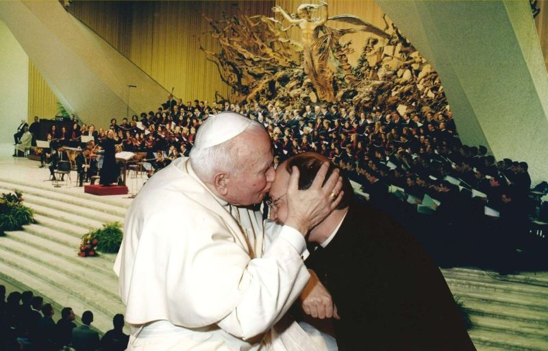 With Saint John Paul II