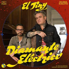 """DIAMANTE ELÉCTRICO trae su contagioso ritmo a """"EL TINY"""""""