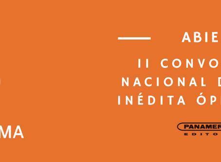 II Convocatoria Nacional Ópera Prima